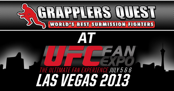 Grapplers Quest UFC Fan Expo July 2013